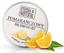 Парфюми, Парфюмерия, козметика Балсам за устни с портокал - Fresh&Natural Lip Balm