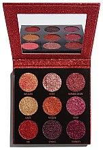 Парфюмерия и Козметика Палитра с блясък - Makeup Revolution Pressed Glitter Palette Hot Pursuit