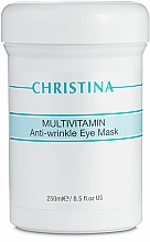 Парфюмерия и Козметика Мултивитаминна маска за зоната около очите - Christina Multivitamin Anti-Wrinkle Eye Mask
