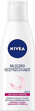 Нежно почистващо мляко за суха и чувствителна кожа - Nivea Visage Cleansing Milk — снимка N1