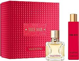 Парфюмерия и Козметика Valentino Voce Viva - Комплект (парф.вода/50ml + лосион за тяло/100ml)