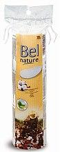 Парфюмерия и Козметика Козметични тампони за лице, кръгли - Bel Premium Bio Nature Pads