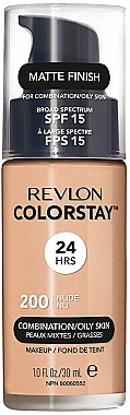 Фон дьо тен - Revlon ColorStay for Combination/Oily Skin SPF 15