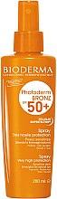 Парфюми, Парфюмерия, козметика Слънцезащитен спрей за чувствителна кожа - Bioderma Photoderm Bronz SPF50+ Protection Spray