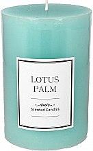 """Парфюмерия и Козметика Ароматна свещ """"Лотосова палма"""" - Artman Lotus Palm Candle"""
