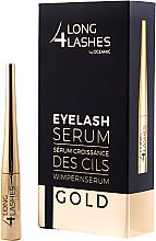Парфюмерия и Козметика Серум, стимулиращ растежа на миглите - Long4lashes EyeLash Gold Serum