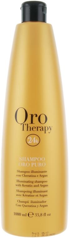 Хидратиращ шампоан със злато - Fanola Oro Therapy Shampoo Oro Puro