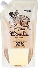 """Парфюмерия и Козметика Течен сапун """"Ванилия"""" - Yope Vanilla & Cinnamon Natural Liquid Soap Refill Pack"""