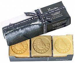 Парфюмерия и Козметика Комплект - La Corvette Provence Soap Gift Box (soap/3x100g)