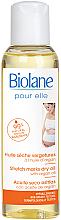 Парфюми, Парфюмерия, козметика Сухо масло против стрии за бременни - Biolane Mum Dry Body Oil