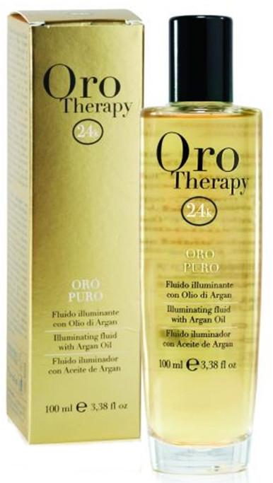 Флуид със злато - Fanola Oro Therapy Fluido Oro Puro