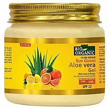 Парфюмерия и Козметика Слънцезащитен крем за тяло - Indus Valley Bio Organic Sun Guard Aloe Vera Gel