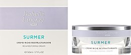 Парфюми, Парфюмерия, козметика Подхранващ нано крем с възстановяващ комплекс - Isabelle Lancray Surmer Rich Restoring Cream