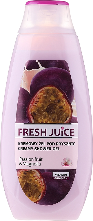 Душ гел-крем с екстракт от маракуя и магнолия - Fresh Juice Brazilian Carnival Passion Fruit & Magnolia