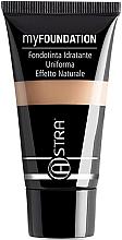 Парфюмерия и Козметика Фон дьо тен - Astra Make-Up My Foundation Natural Effect
