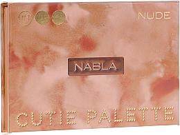 Парфюмерия и Козметика Палитра сенки за очи - Nabla Cutie Collection Palette Nude