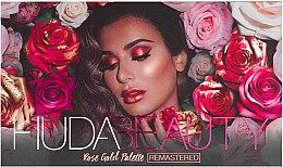 Парфюмерия и Козметика Палитра сенки за очи - Huda Beauty Rose Gold Palette