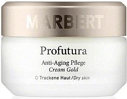 Парфюмерия и Козметика Антиейдж крем за лице - Marbert Profutura Anti-Aging Skin Care Cream Gold