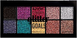 Парфюмерия и Козметика Палитра кремообразни глитери за лице и тяло - NYX Professional Glitter Goals