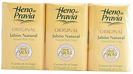 Парфюми, Парфюмерия, козметика Heno de Pravia Original - Комплект сапуни (soap/3х150g)