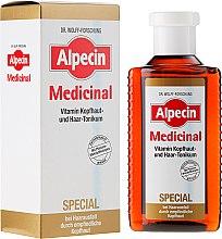 Парфюмерия и Козметика Тоник за чувствителен скалп - Alpecin Medicinal Special Vitamin Scalp And Hair Tonic