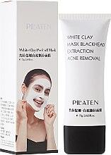 "Парфюмерия и Козметика Маска за лице ""Бяла глина"" - Pil'Aten White Clay Mask Blackhead Extraction Acne Removal"