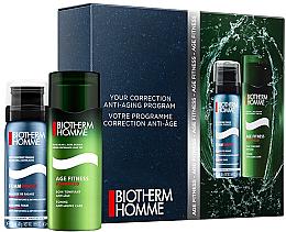 Парфюмерия и Козметика Комплект - Biotherm Homme Age Fitnes Advanced (shave/foam/50ml + af/shave/cr/50ml)