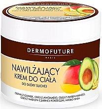 Парфюмерия и Козметика Хидратиращ крем за тяло за суха кожа - DermoFuture Body Cream