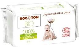 Парфюми, Парфюмерия, козметика Детски органични мокри кърпички - Bocoton Bio