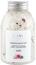 """Парфюмерия и Козметика Минерални соли за вана """"Роза"""" - Kanu Nature Rose Mineral Bath Salt"""