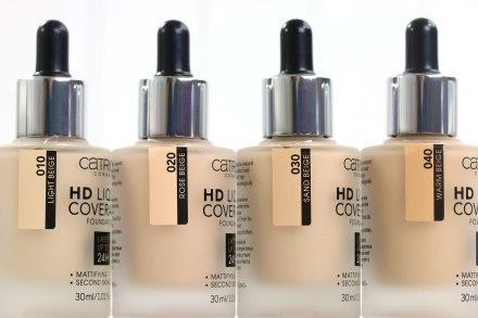Фон дьо тен - Catrice HD Liquid Coverage Foundation — снимка N2
