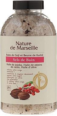Соли за вана с аромат на годжи бери и масло от шеа - Nature de Marseille — снимка N1