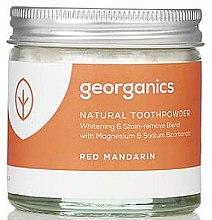 Парфюми, Парфюмерия, козметика Натурален прах за зъби - Georganics Red Mandarin Natural Toothpowder