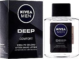 Парфюмерия и Козметика Антибактериален афтършейв-лосион за след бръснене - Nivea Men Deep Comfort After Shave lotion