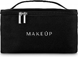 Парфюмерия и Козметика Козметична чанта, черна - MakeUp