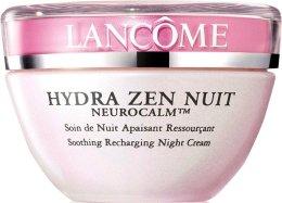 Парфюми, Парфюмерия, козметика Овлажняващ нощен крем - Lancome Hydra Zen Neurocalm 50ml (тестер)