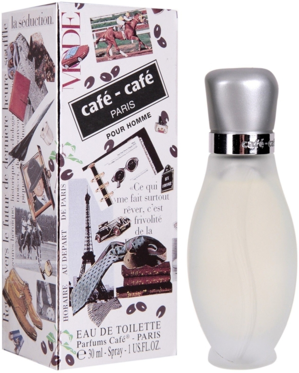 Cafe Parfums Cafe-Cafe Pour Homme - Тоалетна вода — снимка N1