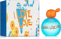 Парфюмерия и Козметика Moschino I Love Love - Тоалетна вода ( мини )