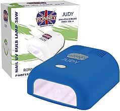 Парфюмерия и Козметика UV лампа за маникюр, синя - Ronney Profesional Judy UV 36W (GY-UV-230) Lamp