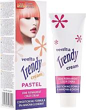 Парфюмерия и Козметика Крем-тонер за боядисване на коса - Venita Trendy Color Cream
