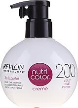 Парфюмерия и Козметика Тониращ балсам за коса - Revlon Professional Nutri Color Creme