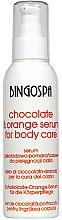 Парфюмерия и Козметика Серум за тяло с шоколад и портокал - BingoSpa Serum Chocolate & Orange