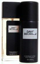 Парфюми, Парфюмерия, козметика David & Victoria Beckham Classic - Комплект (dns 75ml + deo 150 ml)