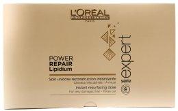 Парфюми, Парфюмерия, козметика Ампули за възстановяване на увредена коса - L'Oreal Professionnel Absolut Repair Lipidium Powerdose