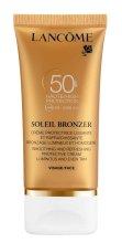 Парфюми, Парфюмерия, козметика Слънцезащитен крем за лице - Lancome Soleil Bronzer Smoothing Protective Cream SPF 50