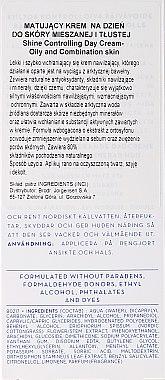 Матиращ дневен крем за лице - Lumene Klassikko Day Cream — снимка N3