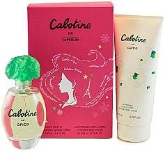 Парфюмерия и Козметика Parfums Gres Cabotine - Комплект (тоал. вода/100ml + лосион за тяло/200ml)