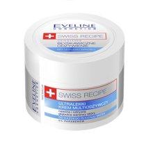 Парфюми, Парфюмерия, козметика Крем за лице и тяло 5 в 1 за чувствителна кожа - Eveline Cosmetics Swiss Recipe Sensitive