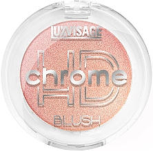 Парфюмерия и Козметика Руж за лице - Luxvisage HD Chrome Blush