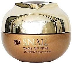 Парфюмерия и Козметика Лифтинг крем за лице с екстракт от охлюв - Belov Snail Care Cream Han Jia Ne